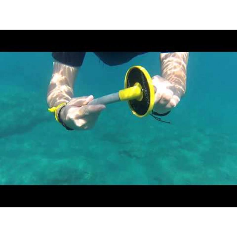 Подводный поиск с металлоискателем. падун под водой - worthy.