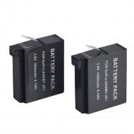 Комплект аккумуляторов 2х для GoPro HERO 4 + зарядка